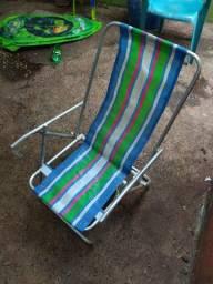 Cadeira Praia Camping Duas posições