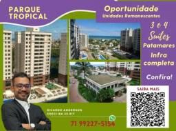 Título do anúncio: Patamares , 2 vagas , 3 suítes , Varanda Gourmet , 113m² , Parque Tropical