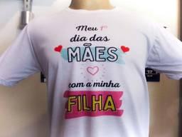 Dia Das Mães camisetas personalizadas