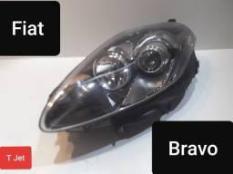 Farol esquerdo mascara projetor Fiat Bravo original novo !!!