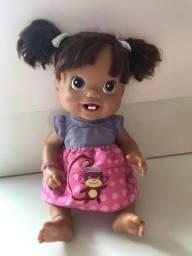 Boneca Baby Alive Meu Primeiro Dentinho Morena