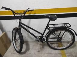 Bicicleta poti preta