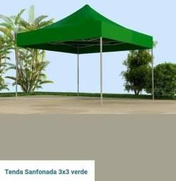 tenda 3x 3 sanfonada e articulada