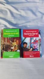 LIVROS HISTÓRIA GERAL E HISTÓRIA BRASIL ENSINO MÉDIO