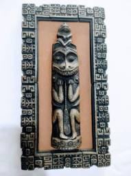 Quadros em Pedra Sabão Asteca