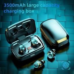 X10 Tws Caixa De Carregamento Sem Fio Bluetooth 5.0 Fones De Ouvido 3500mah 9d Estéreo