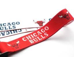 Chaveiro Cordão Nba Chicago Bulls Com Gancho Acabamento Premium