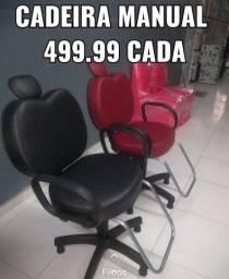 CADEIRA DE SALAO MANUAL 499.99 PRONTA ENTREGA WHATSAP *