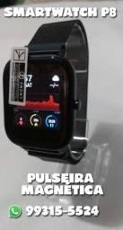 Relógio Smartwatch Inteligente P8 SE touch + Pulseira Milanese