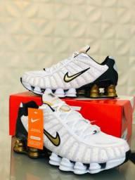 Nike shox 12 mola Bally refletivo Premium