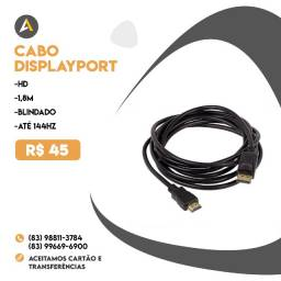 Cabo Displayport - Displayport 144hz 1,8m