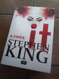 Livro It a coisa Stephen King