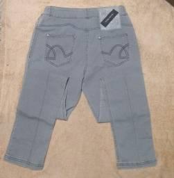Calça feminina jeans 50