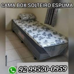 Cama box solteiro#