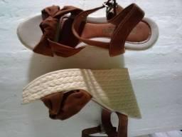 Sapato Salto plataforma