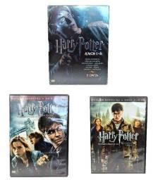 Box Dvd Harry Potter Anos 1/6 + As Relíquias Da Morte Parte 1 e 2 Em Ótimo Estado!
