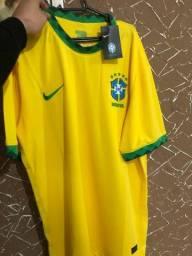 Camisa Oficial Seleção Brasileira Brasil