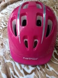 Capacete infantil para bicicleta ou patins