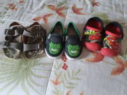 03 Pares de Calçados Infantil
