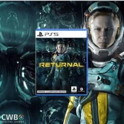 Jogo Returnal PS5. Novo, lacrado. Loja Fisica