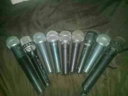 Microfones profissional