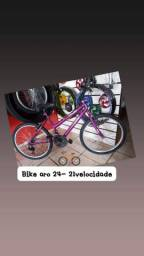 Bike aro 24 - 21velocidade
