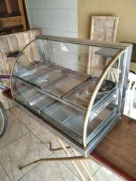 Expositor de salgados estufa