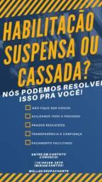 REGULARIZE A SUA HABILITAÇÃO CASSADA OU SUSPENSA !! SEM SAIR DE CASA