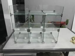 Expositor Multiuso de vidro