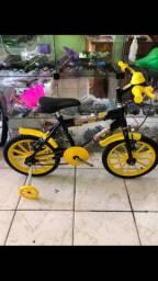 Bicicleta tamanho 16 infantil