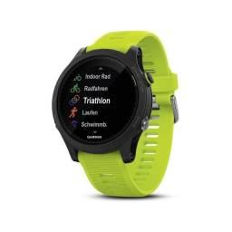 Relógio Smartwatch Garmin Forerunner 935 Tri-Bundle - Preto/Verde-12 vezes sem juros