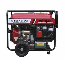 Gerador Motomil 8000CLE - 8 KVA, bivolt, a gasolina