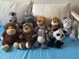Coleção pelúcias Safari