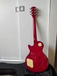Guitarra Les Paul Shelter Nashville 400 Cherry Sunburst + Case + Correia