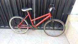 Bicicleta com marcha aro 26