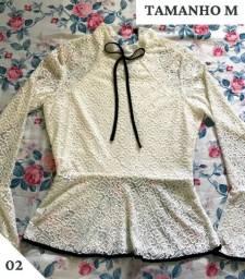 Blusas Femininas Semi Novas (Baratas e Conservadas)