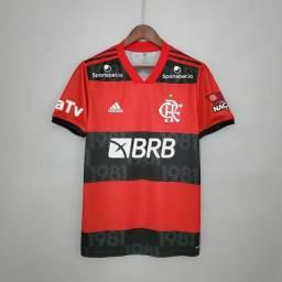 Flamengo Camisa de Futebol Camisa 1 Patrocinadores Brasileirao