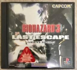 Jogo de PS1 biohazard 3 Last Escape