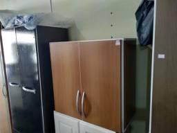 Armario de parede 2 portas cor : branco/laranja