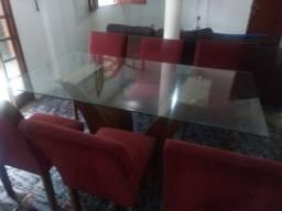 Mesa de jantar seminova R$ 1500