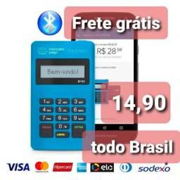 Máquina de cartão de crédito novas lacradas