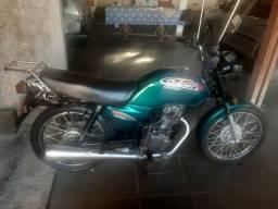 Moto cg 125 titan verde 1999