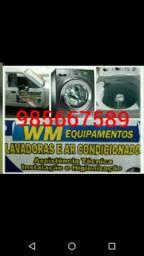 Máquina de lavar conserto e assistência técnica, peças originais  aceita cartão