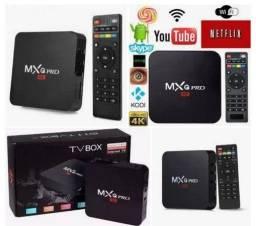 Promoção tv box mxq pro 5G 4K