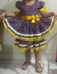 Vestido infantil matuta