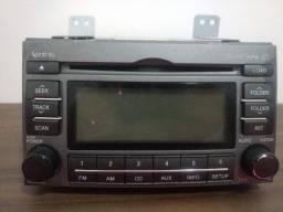 Radio Som Aparelho Original Hyundai Azera