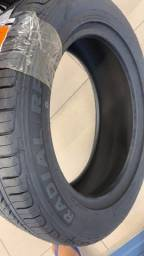 Par de pneus 185/65/15 em 6x de 122,00 já no lugar