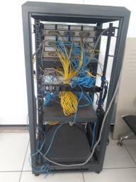 Rack de internet pabx