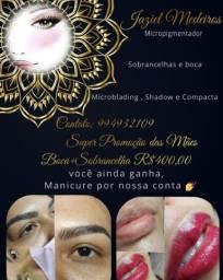 Micropigmentação sobrancelhas e lábios