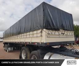 Carreta Facchini Graneleira Porta Container 2009